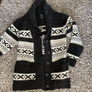 Wool Thick Cardigan / Sweater